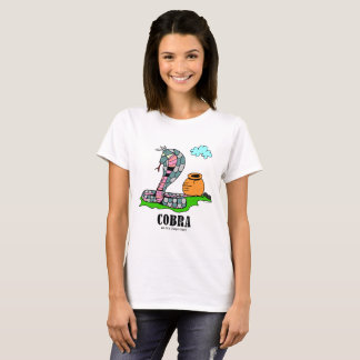 Kobra vid Lorenzo kvinna T-tröja T-shirt