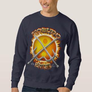 Kobudo beklär den mörka tröjan sweatshirt