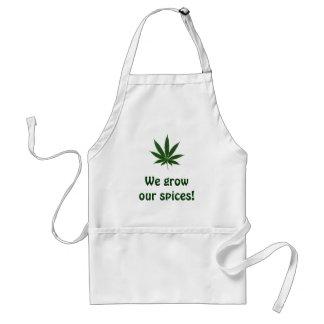 Kock - vi växer våra kryddor! förkläde