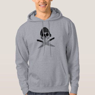 Kockskalle med bandanaen sweatshirt med luva