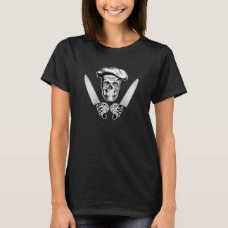 Kockskalle med kockknivar tee shirt
