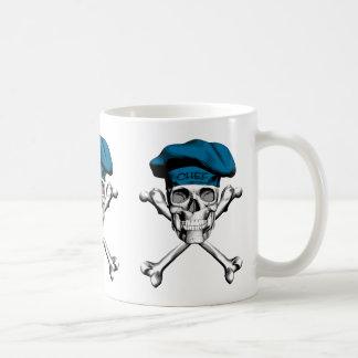 KockskalleCrossbones: Blått Kaffemugg