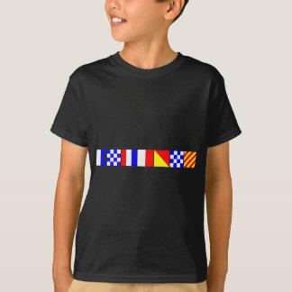 Kodifiera flagga Anthony T Shirt