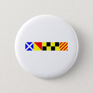 Kodifiera flaggamollyen standard knapp rund 5.7 cm