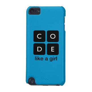 Kodifiera något liknande en flicka iPod touch 5G fodral