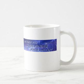 Kodifiera upphittaremuggen kaffemugg