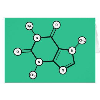 koffeinmolekyl OBS kort