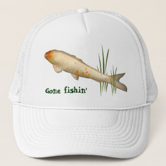 Koi design - borta Fishin Keps