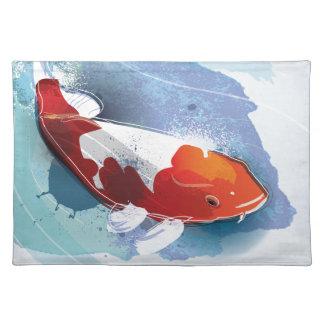 Koi fisk bordstablett
