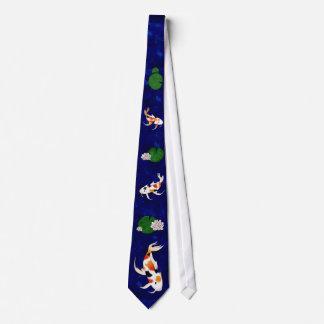 Koi fiskdamm slips