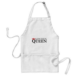 Kökdrottning och krona - kock förkläde