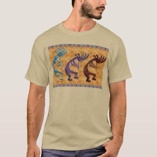 Kokopelli 3D Anasazi indianmotiv T Shirts