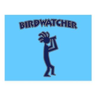 Kokopelli fågelskådare vykort