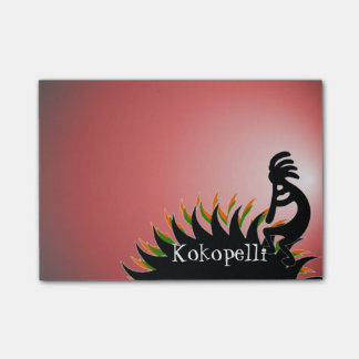 Kokopelli Post-it Lappar