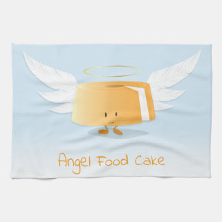 Kökshandduk för ängelmattårta |