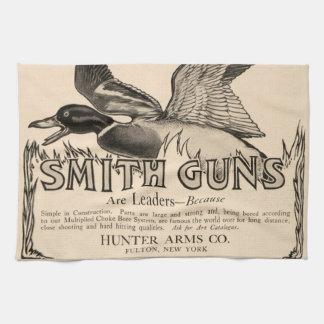 Kökshandduk för jakt för anka för vintagesmedvapen