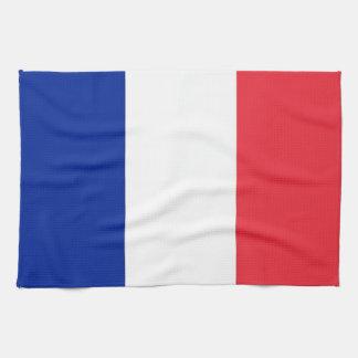 Kökshandduk med flagga av frankriken