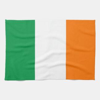 Kökshandduk med flagga av Irland