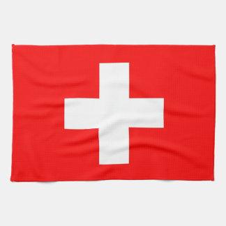 Kökshandduk med flagga av Schweitz