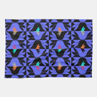 Kökshanddukar med grafiskt mönster