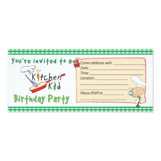 Kökungefödelsedagsfest inbjudan 2