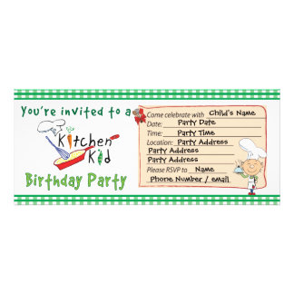 Kökungefödelsedagsfest inbjudan 4