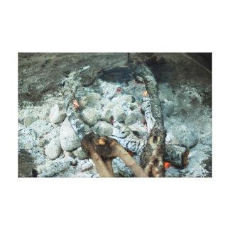 Kol av en lovo avfyrar canvastryck