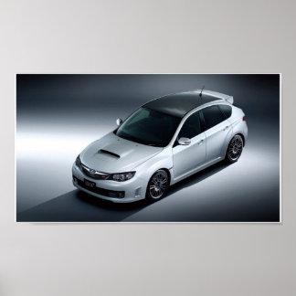 kol för Subaru Impreza wrxsti Poster