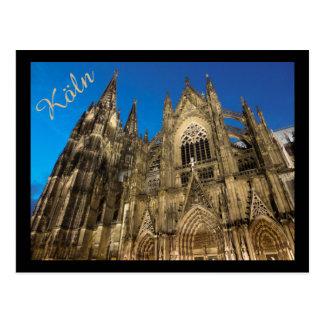 Kölner Dom/Cologne domkyrka Vykort