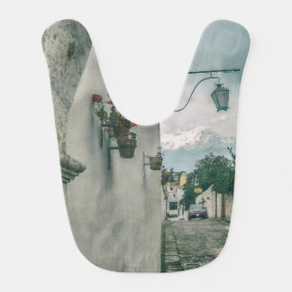 Kolonial gata av den Arequipa staden Peru Hakklapp