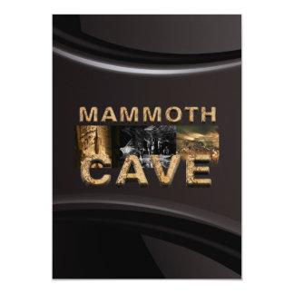 Kolossal grotta för ABH 12,7 X 17,8 Cm Inbjudningskort