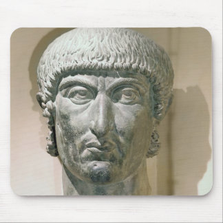 Kolossalt huvud av kejsaren Constantine mig Musmatta