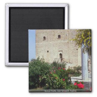Kolossi slott, nära Limassol, Cypern Magnet