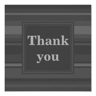 Kolrandar tackar dig att card fyrkantigt 13,3 cm inbjudningskort