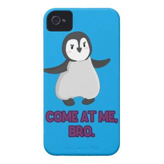 Kom på mig, Bro pingvin iPhone 4 Case-Mate Cases