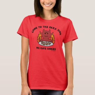 Kom till t-skjortan för mörk sida tshirts