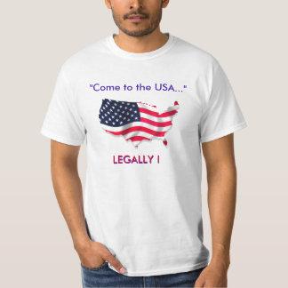 """""""Kom till USA… """", T-shirt"""
