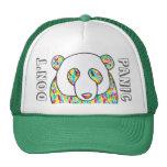 """Komfortpandaen """"görar panikslagen inte"""" Snapback Baseball Hat"""