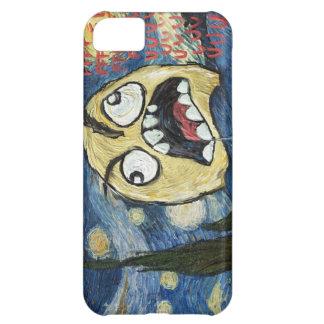 Komisk flott målning för ursinneansikteMeme ansikt iPhone 5C Fodral