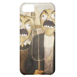 Komisk flott målning för ursinneansikteMeme ansikt iPhone 5C Skal