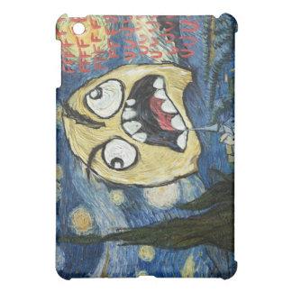 Komisk flott målning för ursinneansikteMeme ansikt iPad Mini Mobil Skydd