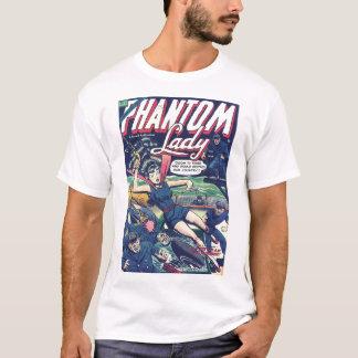 Komisk konst för guldålder - inbillad dam tee shirts