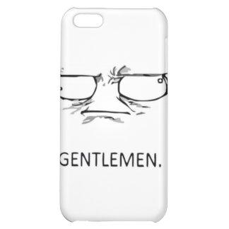 Komiskt ansikte för gentlemän iPhone 5C skal