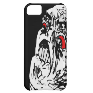Komiskt ansikte för Mega ursinne iPhone 5C Mobil Skydd