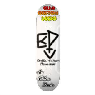 komiskt logotypdäck för elia skateboard bräda 20,5 cm