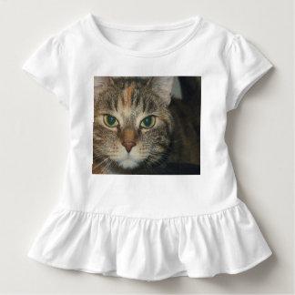 """""""Komm, om du vågar"""" något att säga katten Tee Shirt"""