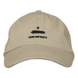 Komm ta det broderade hatten keps