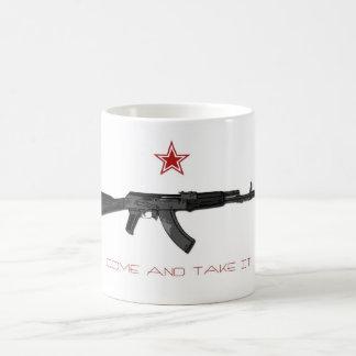 Komm ta det kaffemugg