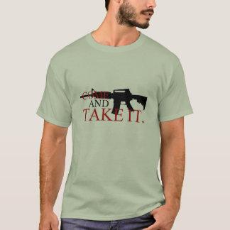 Komm ta det med Musketbaksida Tee Shirt