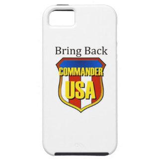 Komma med den tillbaka kommendörkaptenen USA iPhone 5 Fodral